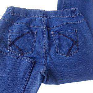 Lane Bryant Straight Leg Jeans Sz 18P
